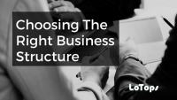 choosing the right business structure