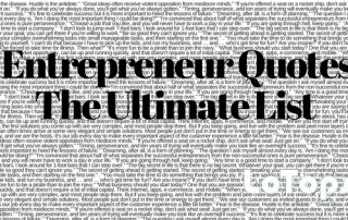 Entrepreneur Quotes The Ultimate List