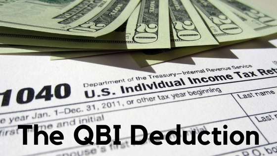 qulaified business income deduction