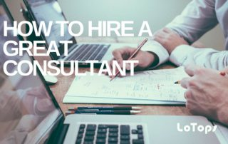 how to hire a great consultant