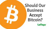 Should our business accept bitcoin?