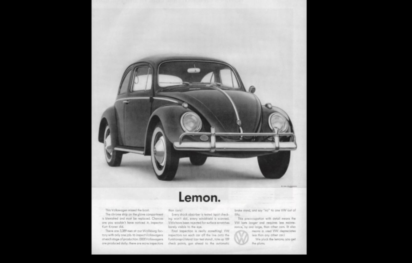 bernback vw ads