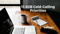 13 b2b cold calling priorities