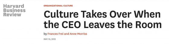 harvard business review culture