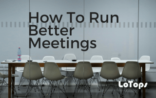 How To Run Better Meetings
