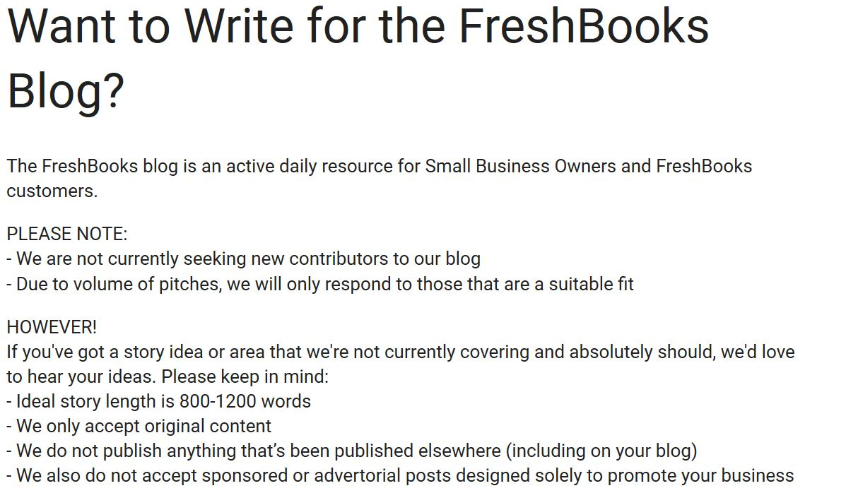 freshbooks blog