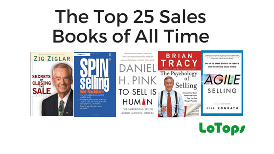 The Top 25 Sales Books of All Time