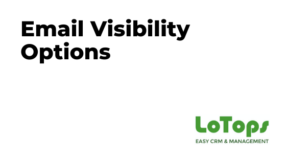 Email Visibility