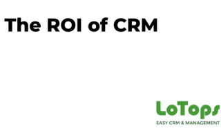 The ROI of CRM